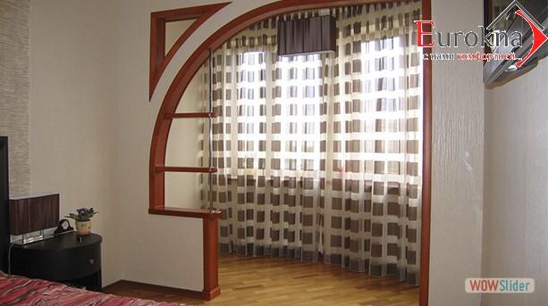 Расширение комнаты за сечет балкона
